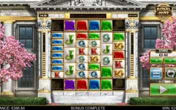 Big Time Gaming zet Royal Mint Megaways online