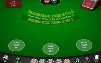 Over blackjack spelen